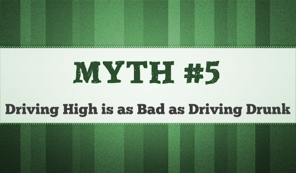 driving drunk vs driving high