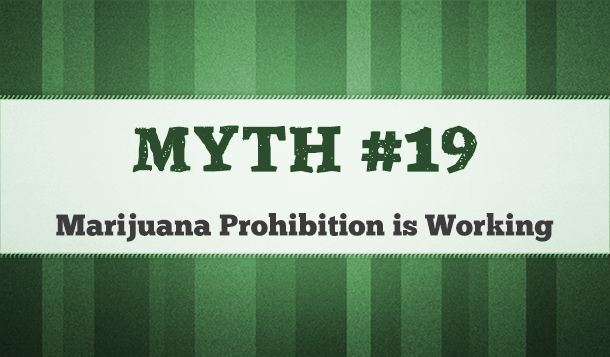 marijuana legalization prohibition is working
