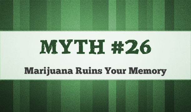how doe marijuana affect your memory