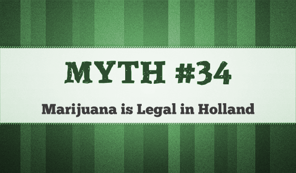 is marijuana legal in holland