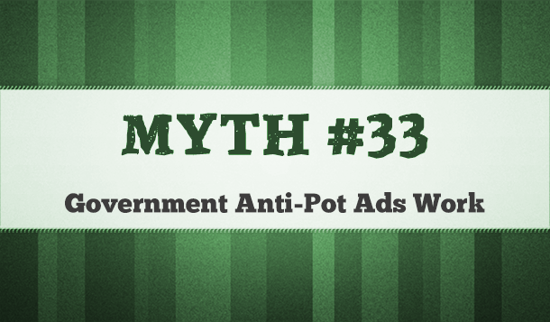 do anti-marijuana advertisements by the government work