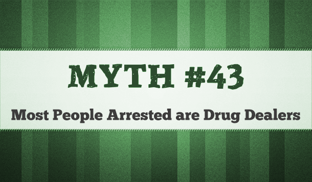 are most marijuana arrests drug dealers