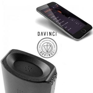 the davinci iq has an iphone app where you can control everything