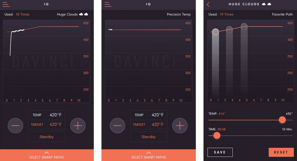 how to use your smartphone to connect to to the davinci iq