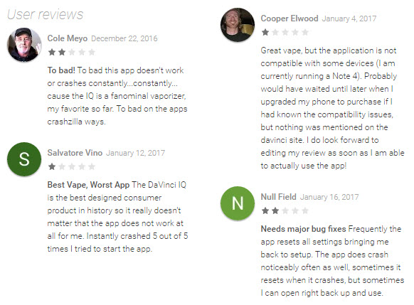 DaVinci IQ Android App Review 1